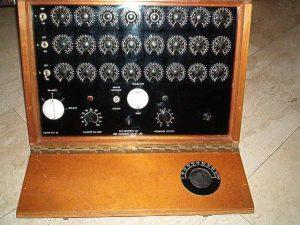 Aparelho radiônico Base 44