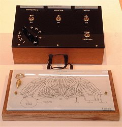 Analisador radiônico Magneto Geométrico